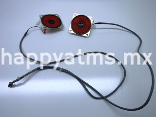 Diebold AUDIO CABLE WITH SPEAKERS PN: 49-250365-000C, 49250365000C