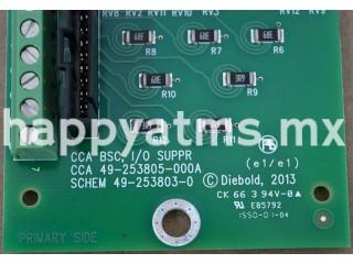 Diebold CCA BSC I/O SUPR PN: 49-253805-000A, 49253805000A